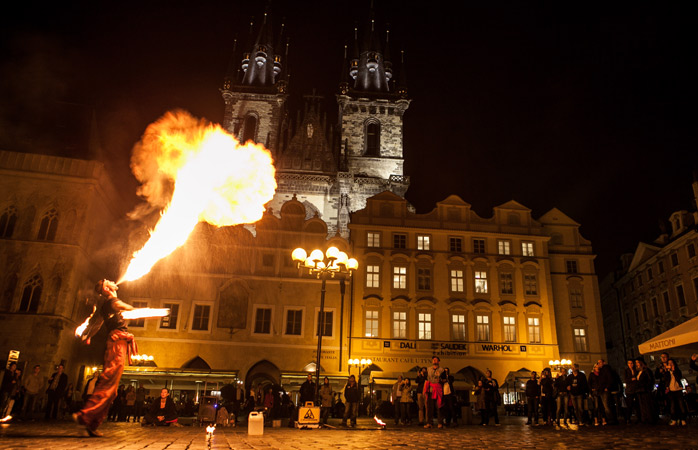 Старе Місто -  старовинне середньовічне місто Праги, яке нікого не залишить байдужим, незважаючи на постійний натовп туристів