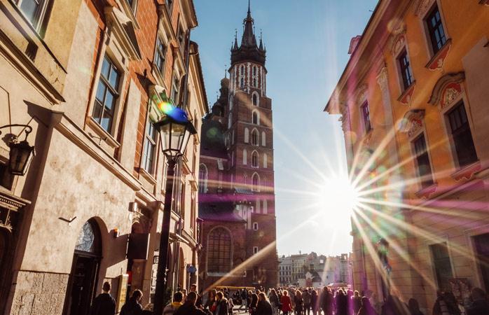 Час для заслуженого відпочинку – насолодіться прогулянкою тихими вуличками Кракова!